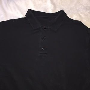 Black Cotton SS Shirt Kirkland
